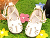 【11-09】B/P Cute Cats Mini Shoes # Shiny White