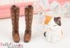 【12-01】B/P Boots.Raw White
