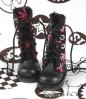【13-01】B/P Boots.Skeleton Deep Pink