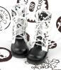 【13-03】B/P Boots.Skeleton White