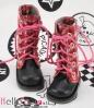 【13-05】B/P Boots.Stripe Red/White