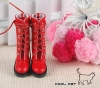 【14-07】B/P Boots.Red