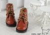 【15-06】B/P Short Shoes.Brown