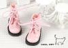 【15-07】B/P Short Shoes.Shiny Pink