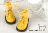 【15-10】B/P Short Shoes.Shiny Yellow