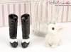 【07-07】B/P High-Heeled Boots.Black/White