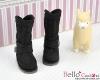【19-05N】B/P Boots.Black