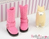 【19-06N】B/P Boots.Sweet Pink