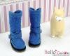 【19-11N】B/P Boots.Denim Blue
