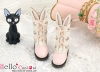 【24-3】B/P Cute Bunny Ears Mini Boots # Pink
