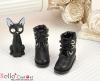 【27-2】B/P Short Shoes.Black