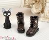 【27-4】B/P Short Shoes.Dark Brown