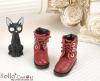 【27-5】B/P Short Shoes.Crimson