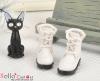 【28-1】B/P Short Shoes.White