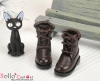 【28-5】B/P Short Shoes.Dark Brown
