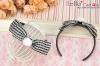 (Blythe)HandMade Custom Hair Band # Bow Black