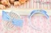 (Blythe)HandMade Custom Hair Band # Bow Blue