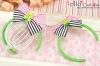 (Blythe)HandMade Custom Hair Band # Bow Bear Green