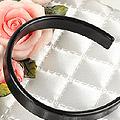 【HB-01】SD/DD/MDD Simple Hair Band (Flat End) # Black