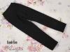 H71.【ST-02】SD/DD Cropped Pants # Cotton Black