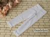 H73.【ST-04】SD/DD Cropped Pants # Net White