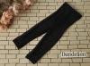 H74.【ST-05】SD/DD Cropped Pants # Net Black