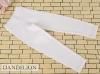 H81.【ST-12】SD/DD Cropped Pants # Cotton White