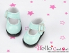 【01-12】B/P Mini Shoes # Shiny Sky Blue