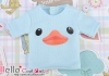 i108.【PR-108】B/P Printing Tee(Duck)# Baby Blue