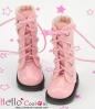 【13-13】B/P Boots.Shiny Pink