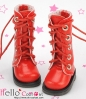 【13-16】B/P Boots.Shiny Red