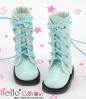 【13-17】B/P Boots.Shiny Sky Blue