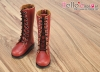 【TY02-4】Taeyang Doll Long Boots # Brick Red