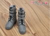 【TY03-4】Taeyang Doll Boots # Pewter