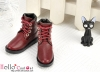 【TY6-4】Taeyang Doll Short Boots # Crimson