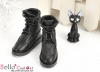 【TY7-2】Taeyang Doll Short Boots # Black