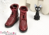 【TY7-3】Taeyang Doll Short Boots # Crimson