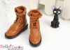 【TY7-4】Taeyang Doll Short Boots # Brown