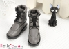 【TY7-6】Taeyang Doll Short Boots # Grey