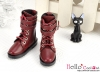 【TY8-3】Taeyang Doll Boots # Crimson