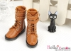 【TY8-4】Taeyang Doll Boots # Brown