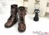 【TY8-5】Taeyang Doll Boots # Coffee