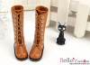 【TY9-3】Taeyang Doll Long Boots # Brown