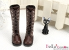 【TY9-4】Taeyang Doll Long Boots # Coffee
