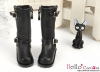 【TY10-2】Taeyang Doll Long Boots # Black