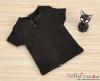 J45.【TD-2】Taeyang Short Sleeves Tee(2-Buttons)# Black