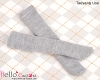 【TY-L03】Taeyang Over Knee Doll Stockings # Grey